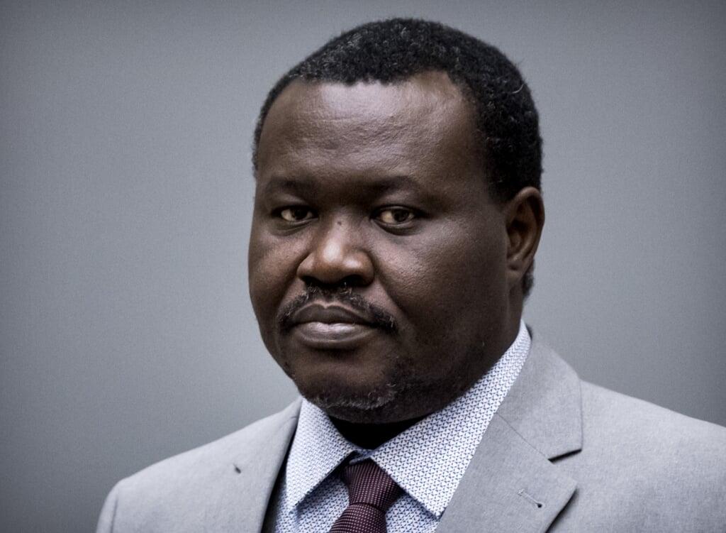 2019-01-25 14:23:52 DEN HAAG - Patrice-Edouard Ngaissona, de voormalig militieleider van de Centraal Afrikaanse Republiek tijdens zijn voorgeleiding bij het Internationale Strafhof. ANP KOEN VAN WEEL  (beeld anp / Koen van Weel)