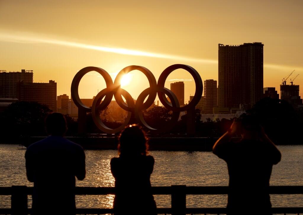 In Tokio worden de Olympische Spelen van '2020' gehouden.  (beeld anp / Robin van Lonkhuijsen)