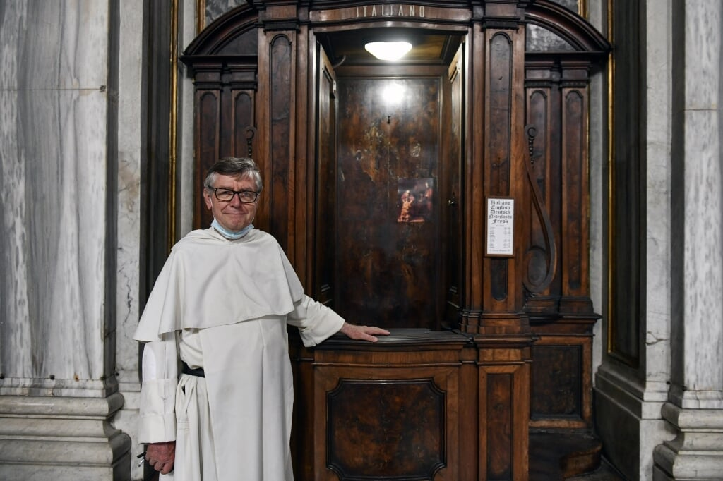 Pater Tiemen Brouwer   (beeld Paolo Galosi)