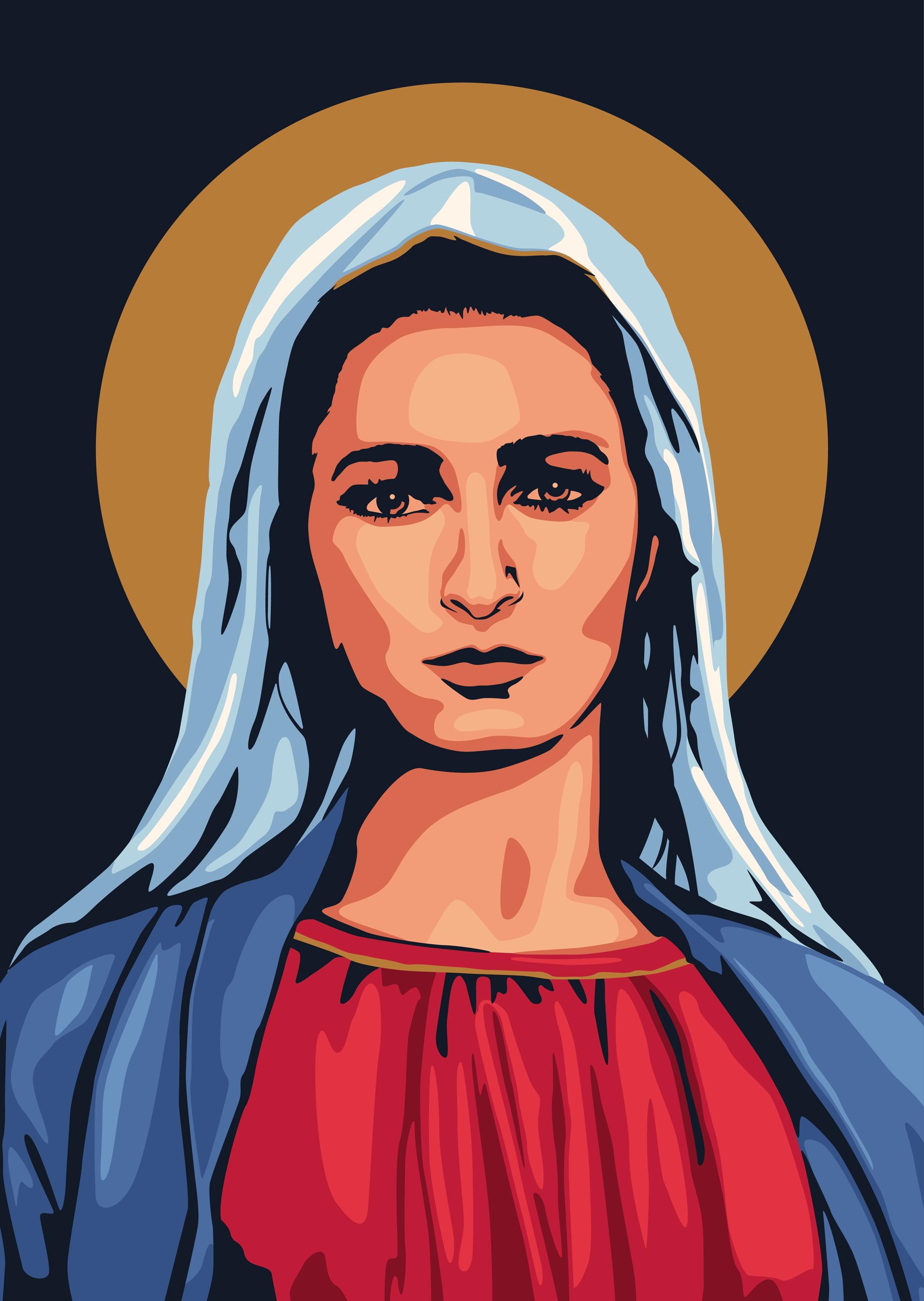 Maria, icoon van genade