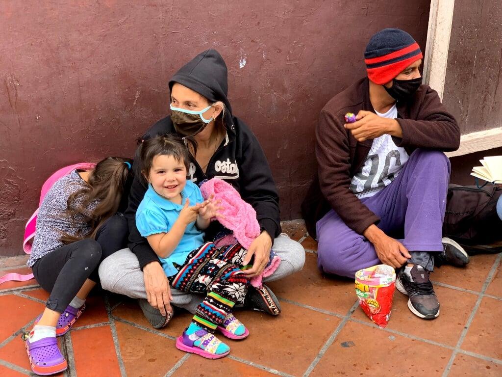 vluchtelingen Venezuela  (beeld Gerjan Ekenhorst)