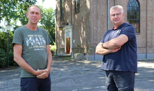 <p>Links Wim Kemink en rechts Harjan Winter.</p>