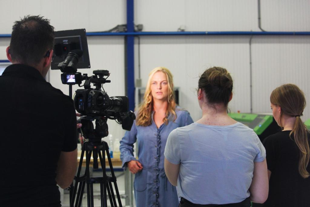 Laura Buitenhuis vertelt over het productieproces Topdrukte ©