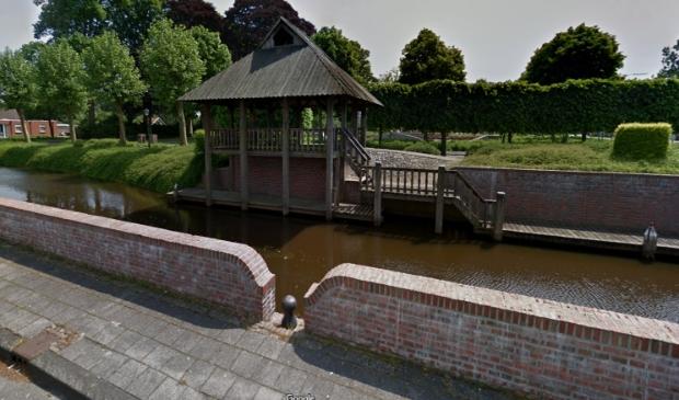 <p>Het praathuis in Oude Pekela (archieffoto).</p>
