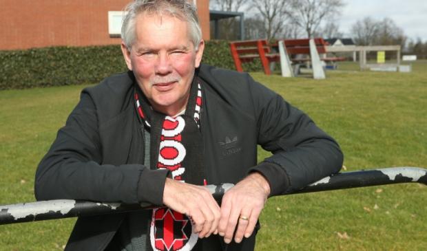 <p>Renger Dijkman, de consul van Rood Zwart Baflo. Foto&#39; Ronnie Afman.</p>