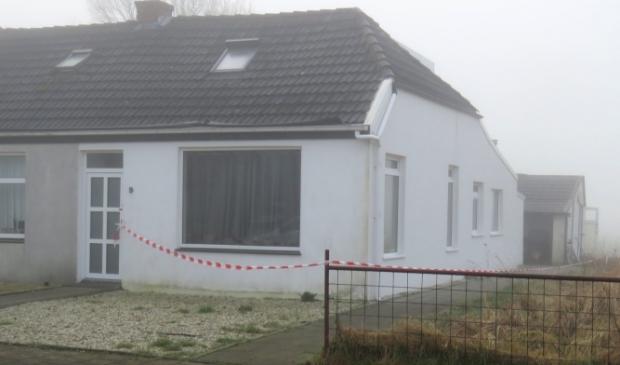 <p>De woning aan de Klaas Nieboerweg waar het steekincident plaatsvond.<br><br></p>