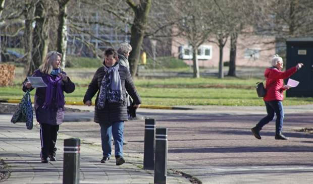<p>Deelnemers aan een eerdere activiteit van Veendam Beweegt. Foto: Bert Woltjes.</p>