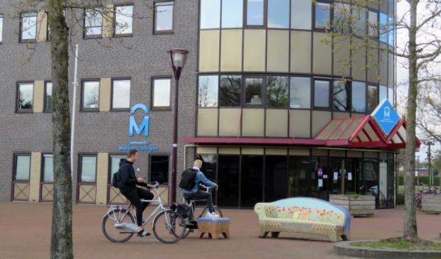 <p>Het oude gemeentehuis in Muntendam, mogelijk onderdeel van het nieuwe centrumplangebied.</p>