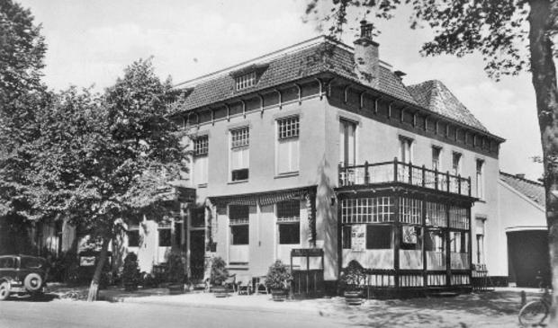 <p>Hotel Faber aan het begin van de vorige eeuw.</p>