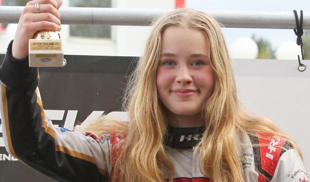 <p>Kartster Annabelle Brian uit Winsum.&nbsp;</p>
