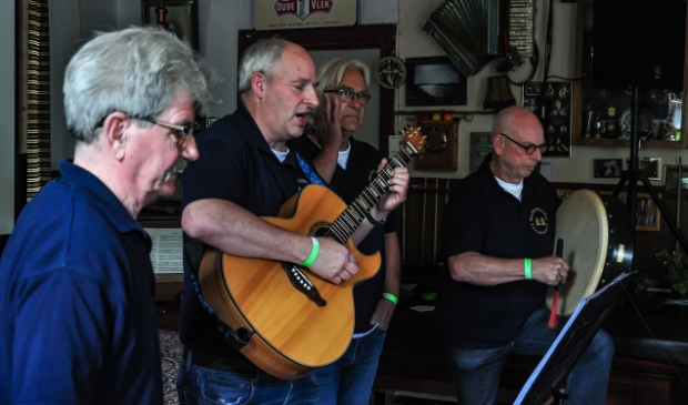 Het optreden van The Forebitter Men tijdens een eerdere editie van Vocaal Festival Annen.