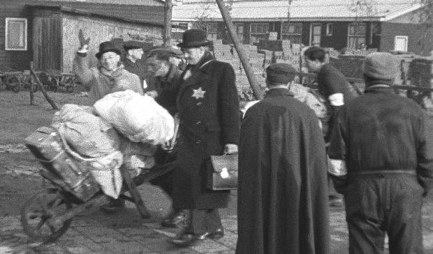 <p>Een fragment uit de Westerborkfilm.</p>