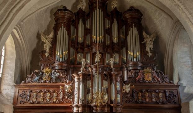 Het Leenster Hinsz-orgel.