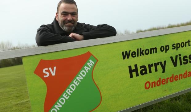 <p>Koos Koerts op het sportpark van SV Onderdendam (foto Ronnie Afman).</p>