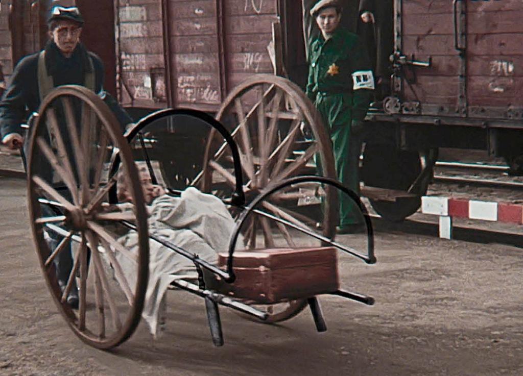 De Westerbork-film bevat beelden van niet twee maar drie transporten.  © De Veldenkrant