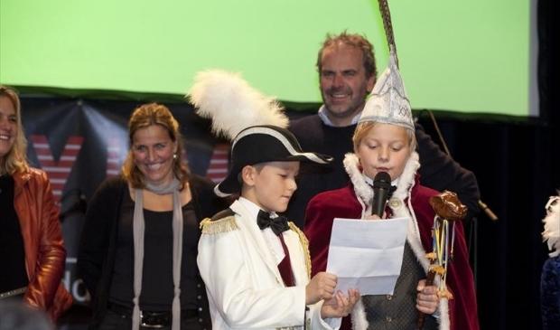 Jeugdprins Porcellus XXXVII Sam van Bodegom en Adjudant Gijs Hanegraaf