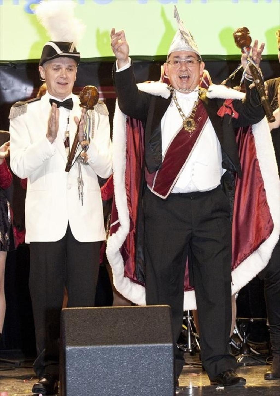 Marco Nelissen en Angelo van Tilburg: Porcus XLIII en Adjudant in Krullendonk  Foto:  © mooibernheze