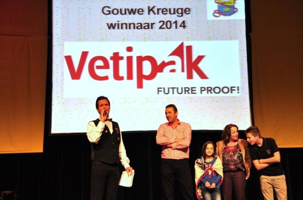Vetipak winnaar prestigieuze Gouwe Kreuge Foto:  © mooibernheze
