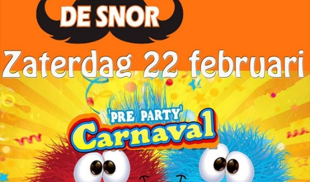 Pre Carnavals Party bij café De Snor