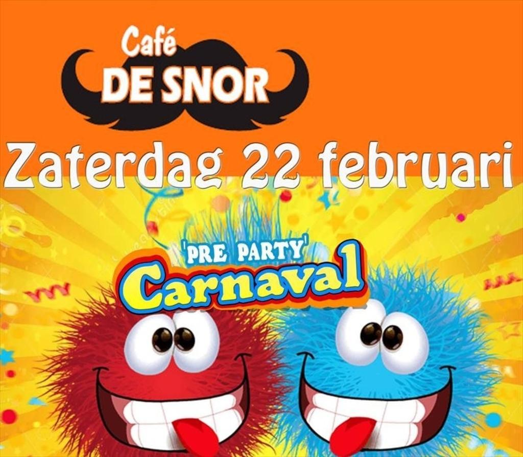 Pre Carnavals Party bij café De Snor Foto:  © mooibernheze