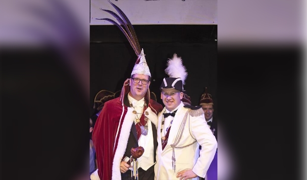 Stan Jaspers en Peter van Uden zijn Porcus XLV en Adjudant