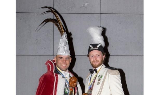 Menno  en Dave zijn Porcus XLVI en Adjudant