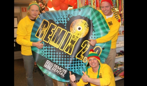 Remix 2.0 bij jeugdcarnaval