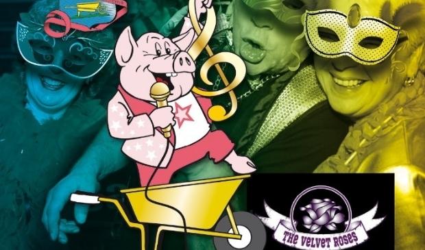 Gouwe Kreuge bal met Liedjesfestival en The Velvet Roses