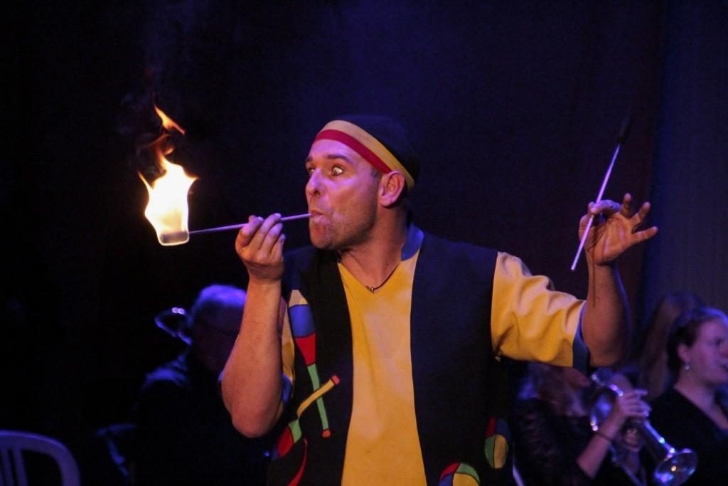 Nistelrode - Concert Fanfare St. Lambertus - thema Circus Foto: Rian van Schijndel © mooibernheze