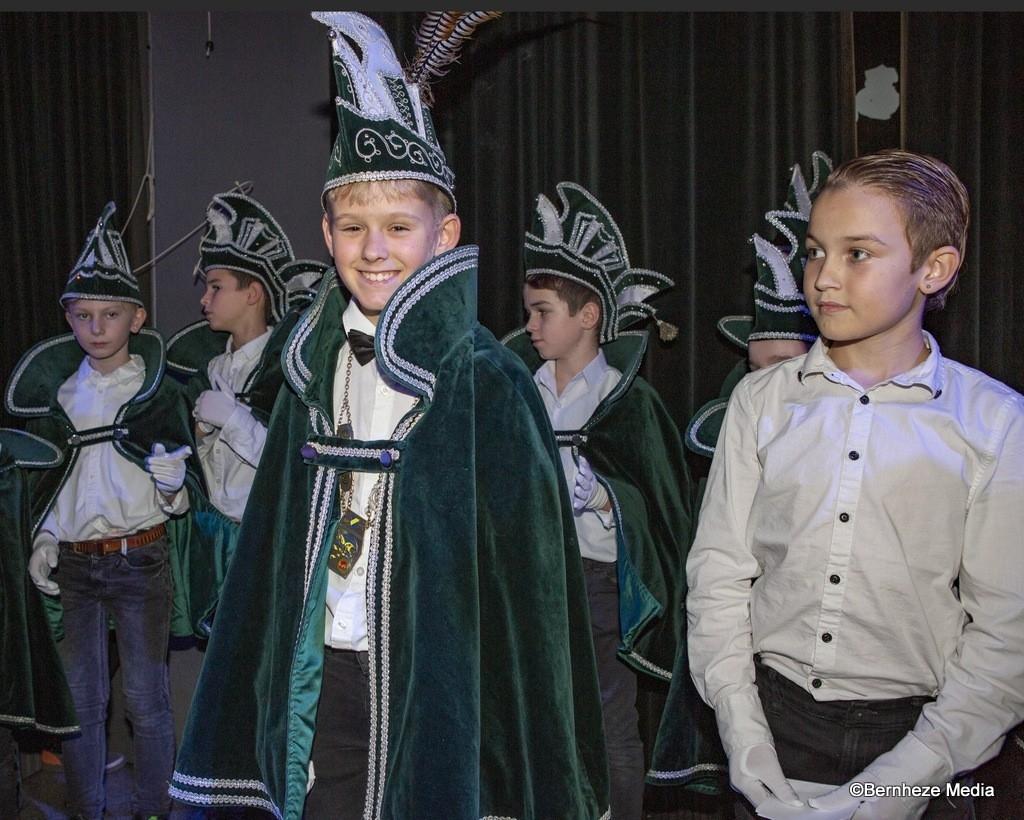 Weversrijk - Onthulling Jeugdprins en Adjudant 2018-2019 Foto: Marcel van der Steen © mooibernheze