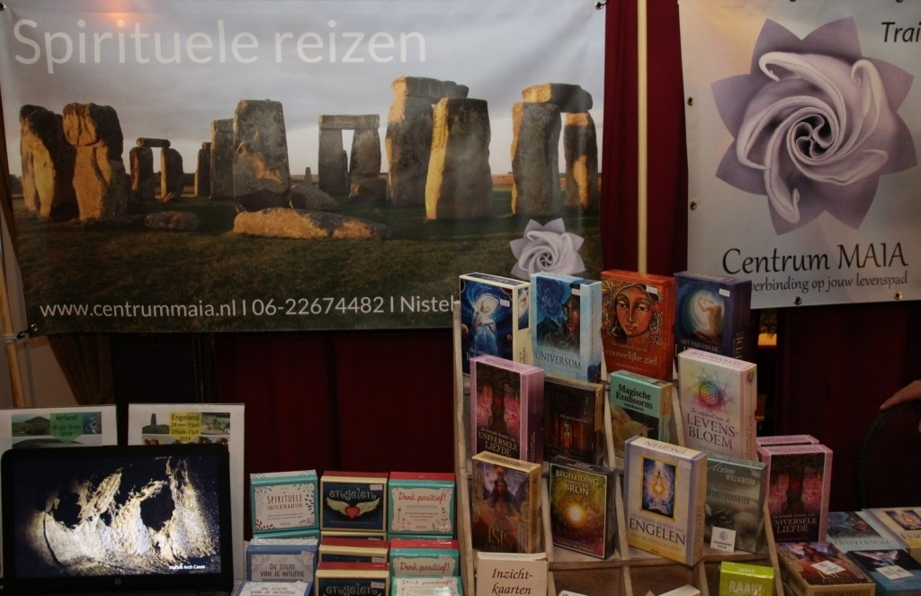 Nistelrode - Spirituele beurs  Foto: Rian van Schijndel © mooibernheze