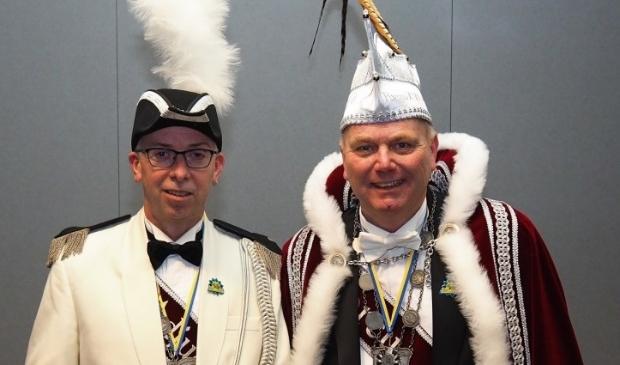 Peter Kusters en Erwin Veld zijn Porcus XLVIII en Adjudant in Krullendonk