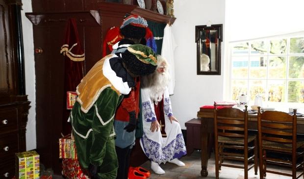 Heeswijk-Dinther - Sinterklaas slaapt in de Museumboerderij