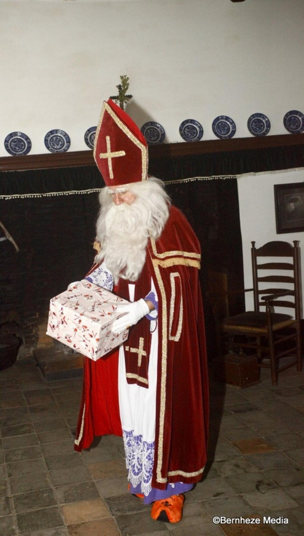 Heeswijk-Dinther - Sinterklaas slaapt in de Museumboerderij Foto: Michel Roefs  © mooibernheze