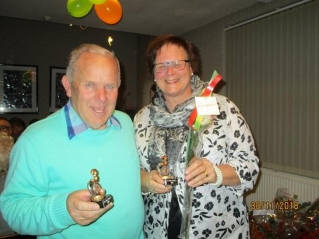 Nistelrode - Clubkampioen Die Lé 2018 Foto: Jos Bongers © mooibernheze