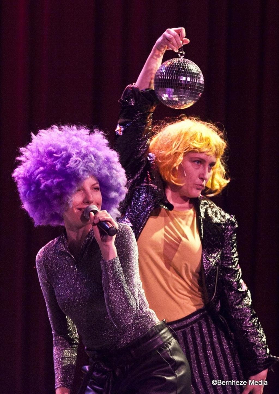 Nistelrode - De dames van Oldenhermanns in CC Nesterlé Foto: Ad Ploegmakers © mooibernheze