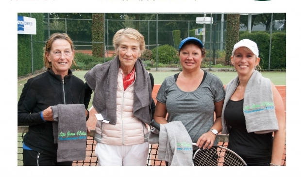 Nistelrode - LipsGroen 45+ tennistoernooi finalisten