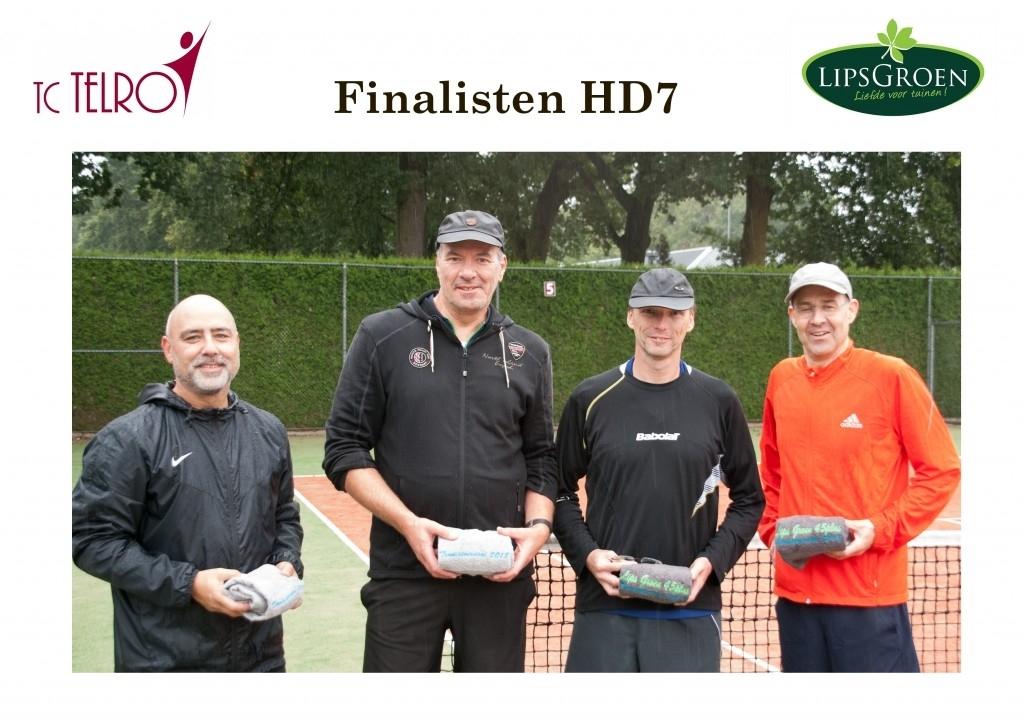 Nistelrode - LipsGroen 45+ tennistoernooi finalisten Foto: Mario van Zeeland  © mooibernheze
