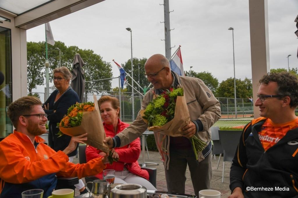 Heeswijk-Dinther - Unieke tennisclinic TV de Balledonk Foto: Edwin Hendriks © mooibernheze