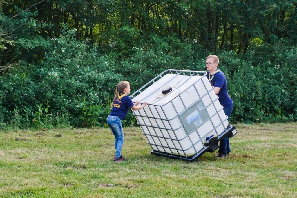 Nistelrode - Jubileumweekend Scouting Nistelrode Foto:  © mooibernheze