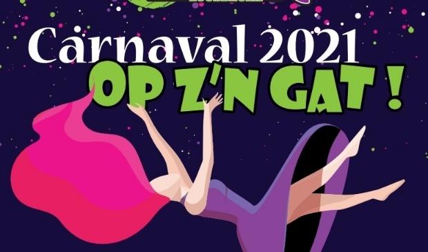"""Carnaval 2021 in Loosbroek """"Op z'n gat"""""""