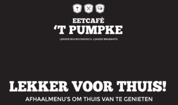 <p>Blijf genieten! Bestel een heerlijk afhaalmenu bij Eetcafé 't Pumpke</p>
