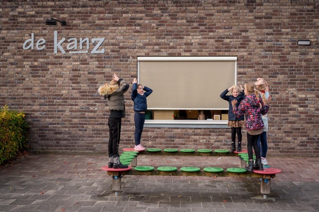 Nistelrode - Opening schoolplein BS 't Maxend  Foto: Edwin Hendriks  © mooibernheze