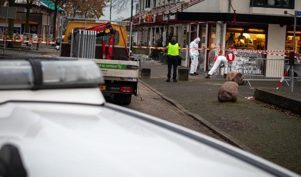 Heeswijk-Dinther - Explosie Poolse Supermarkt  Foto: Edwin Hendriks  © mooibernheze