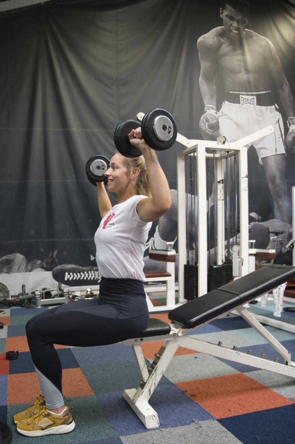 Heeswijk-Dinther - Lieke doet aan bodybuilding Foto: Edwin Hendriks  © mooibernheze