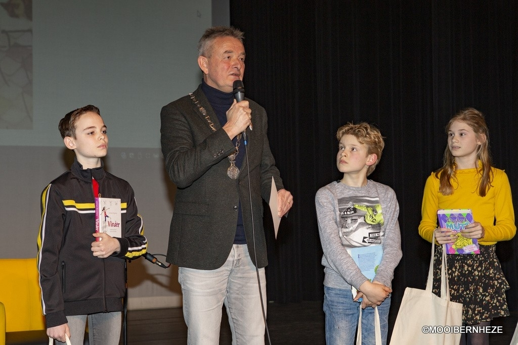 Bernheze - Voorleeskampioen basisschool 2020 Foto: Marcel van der Steen  © mooibernheze