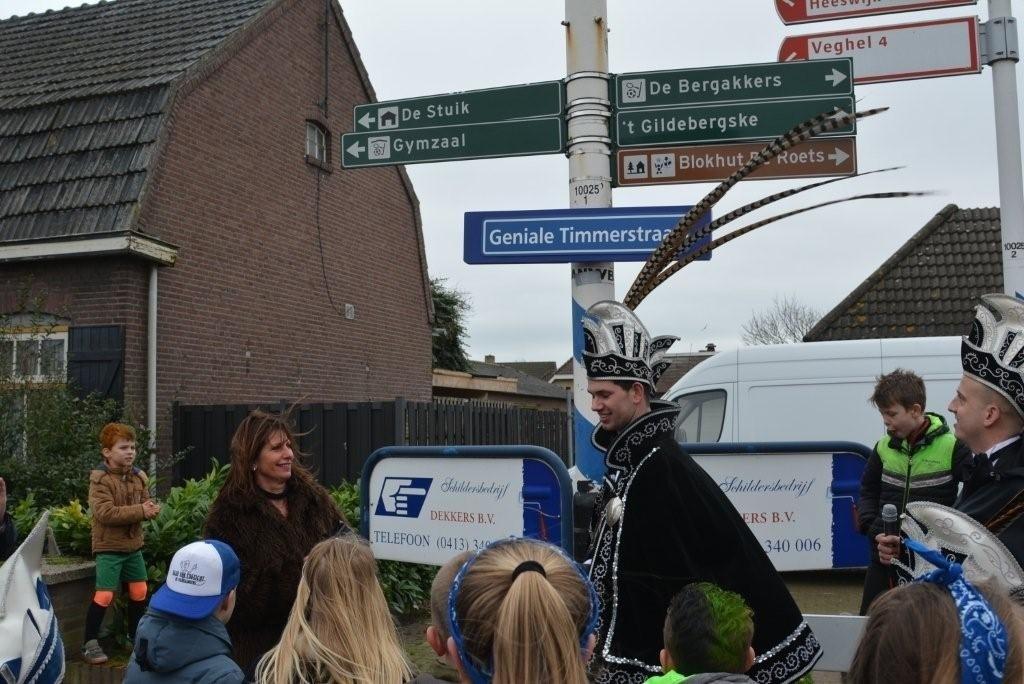 Piereslikkersrijk - Straatnaamonthulling Foto: Jo van de Berg © mooibernheze