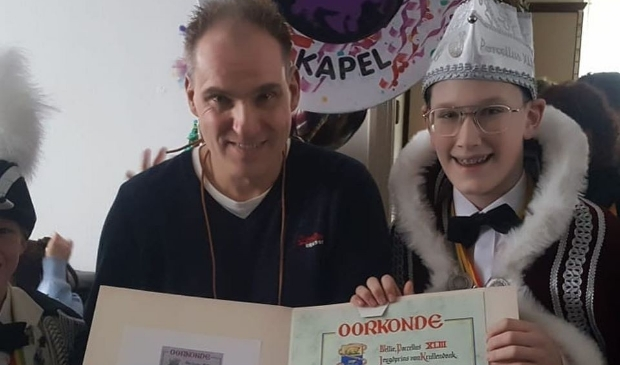 Krullendonkse onderscheiding Rob van Gaal! Foto:  © mooibernheze