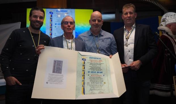 50e Gouwe Kreuge uitgereikt aan Van Munster Recyclers