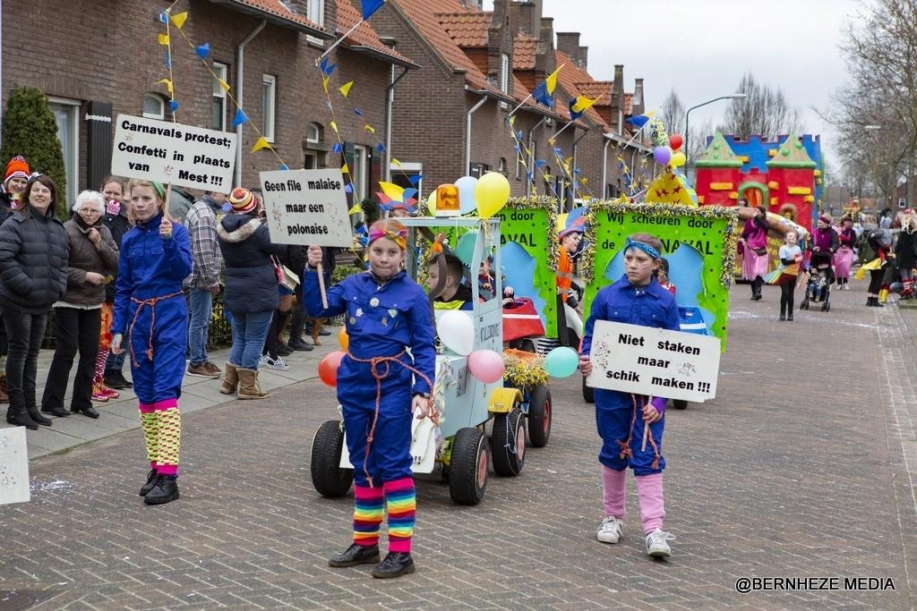 Krullendonk - Jeugdoptocht Foto: Marcel van der Steen © mooibernheze